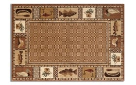"Cabin Brown 5' x 7'6"" Rug"