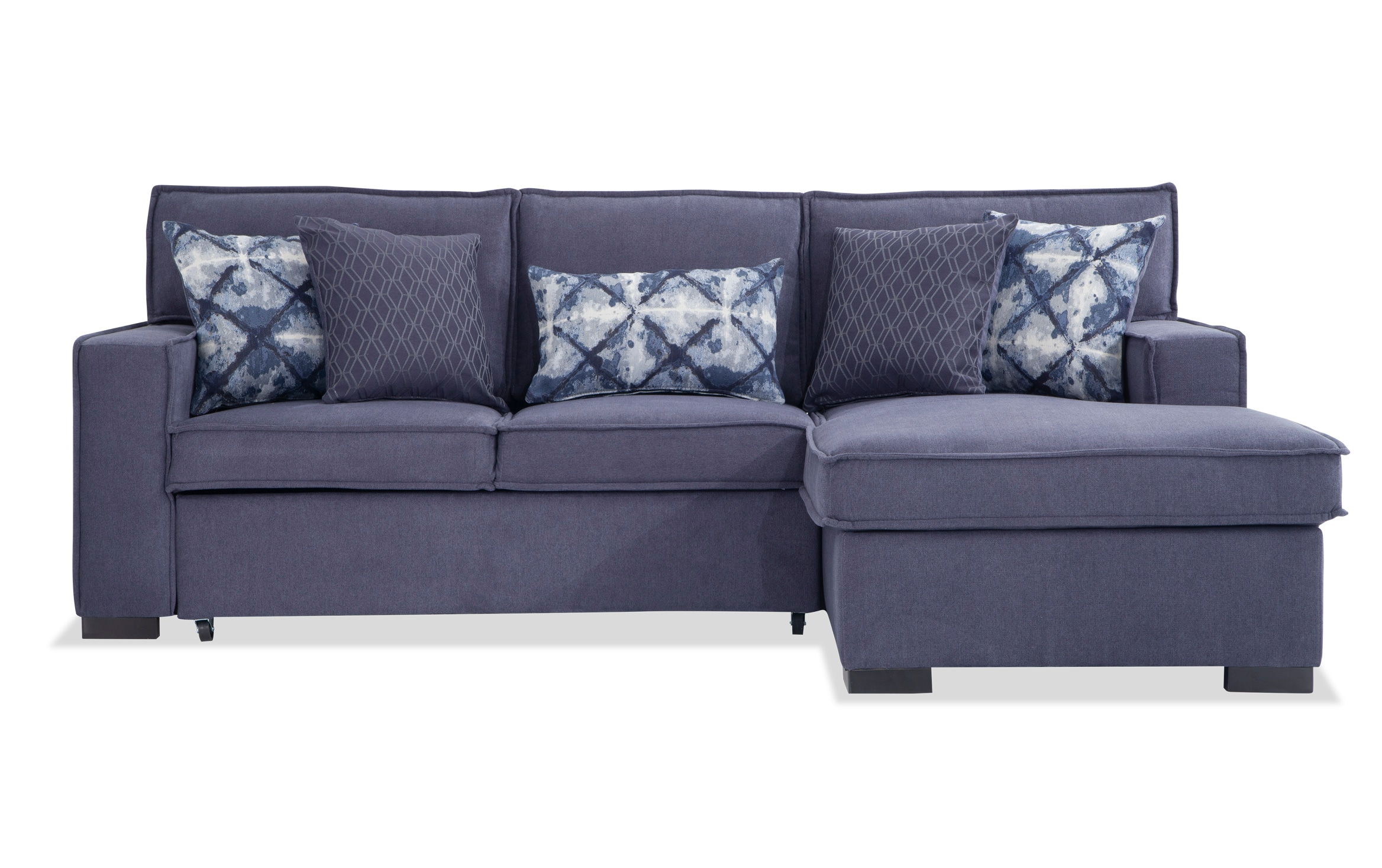 - Playscape Denim Left Arm Facing Sectional Bobs.com