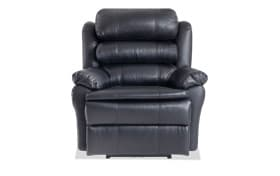 Leather Bob-O-Pedic Black Power Recliner
