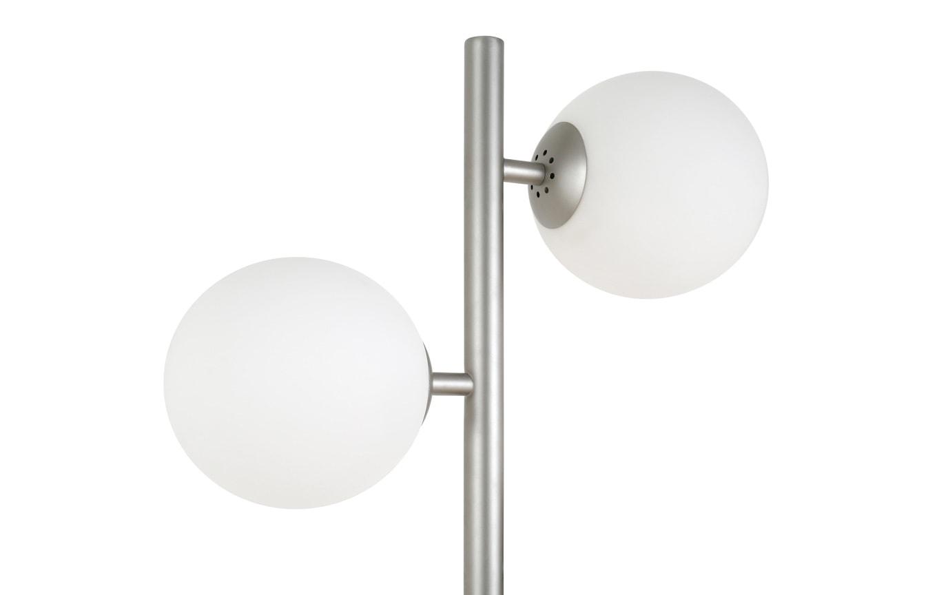 Tilly Brushed Nickel Floor Lamp