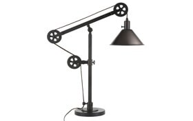 Simon Blackened Bronze Table Lamp