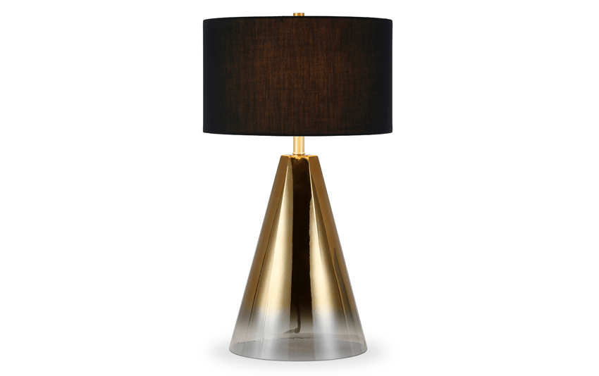 Indy Black Table Lamp