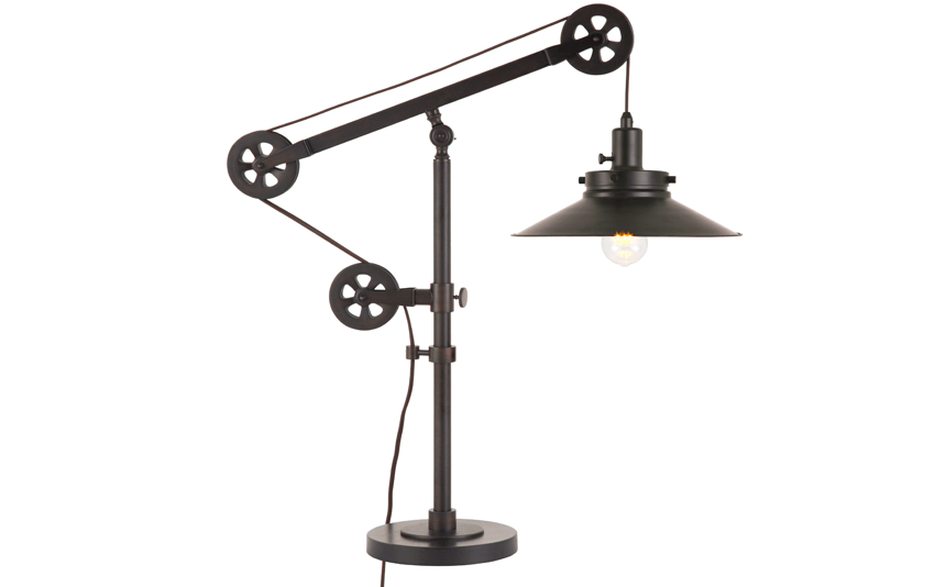 Simon Wide Brim Table Lamp