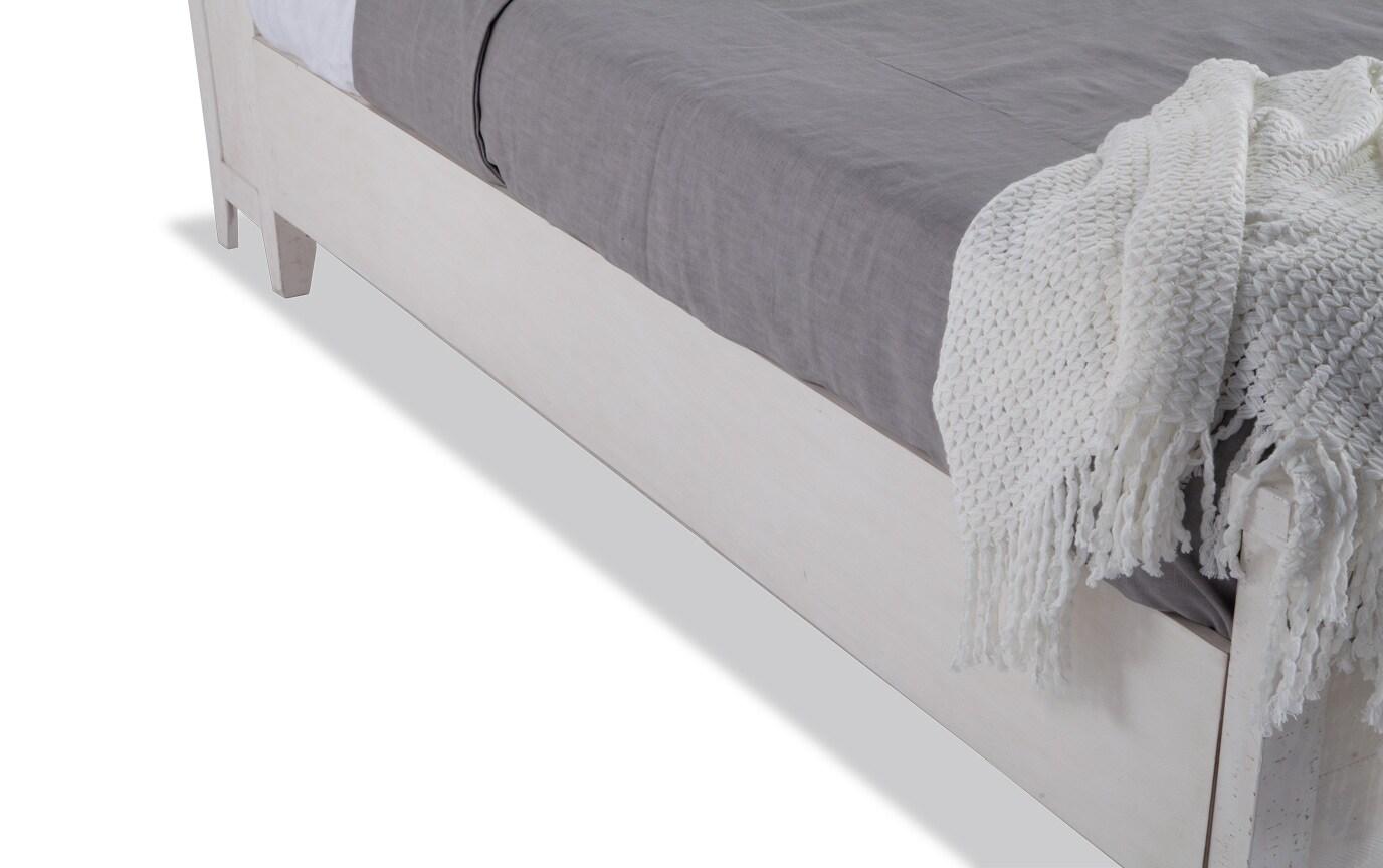 Montana Full White Bookcase Storage Bed