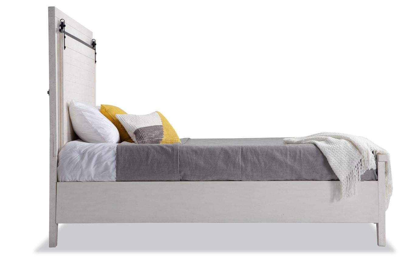 Montana Full White Storage Bed