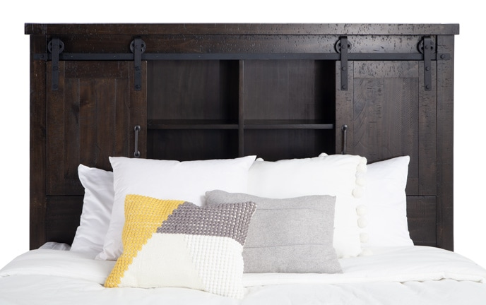 Montana Bookcase Storage Bed
