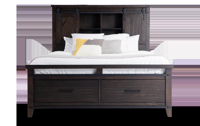 Montana Bookcase Storage Bed