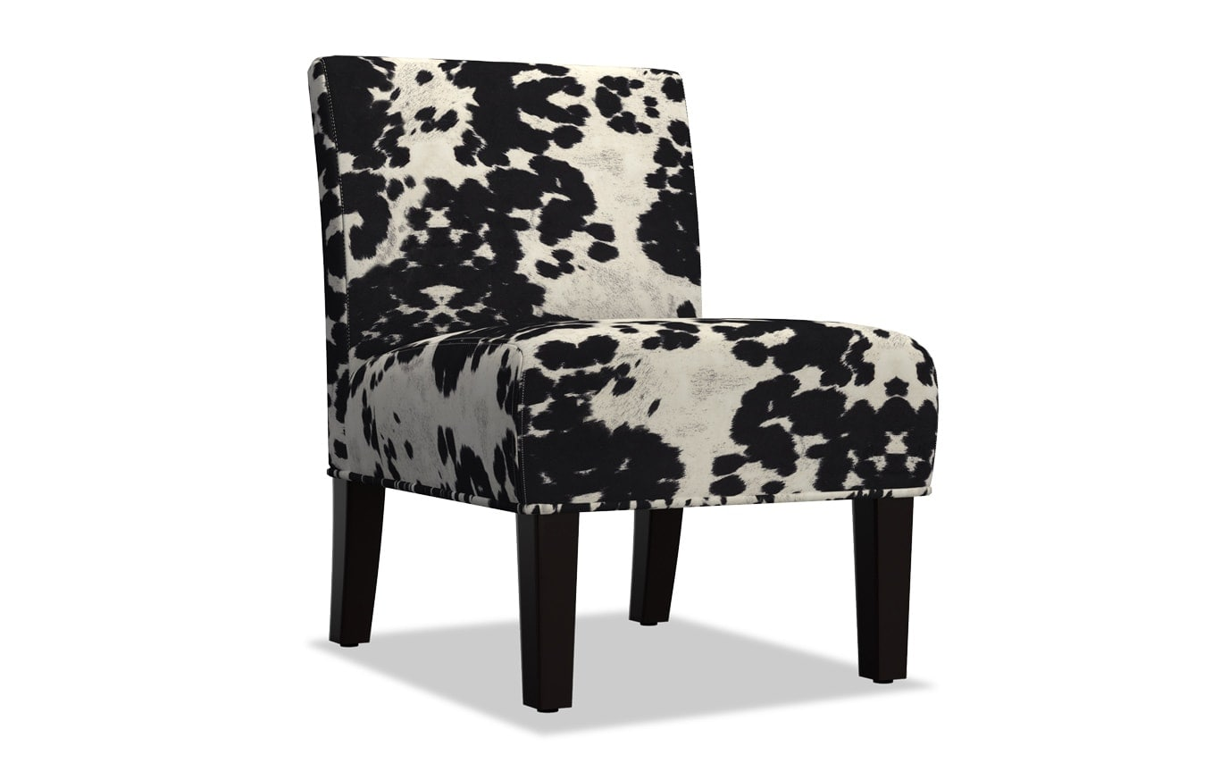 Fawn Black Lounge Chair
