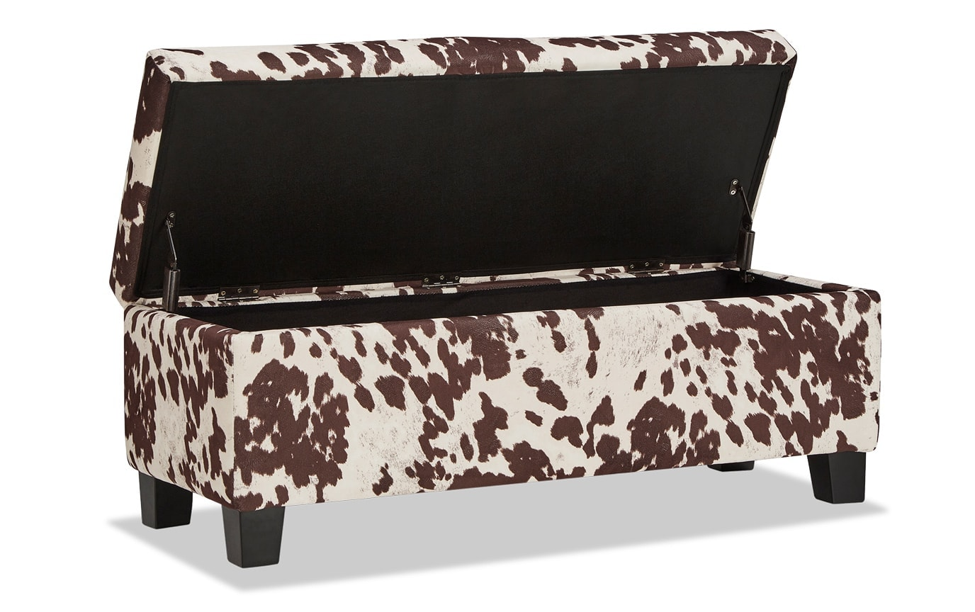 Fawn Brown Storage Bench