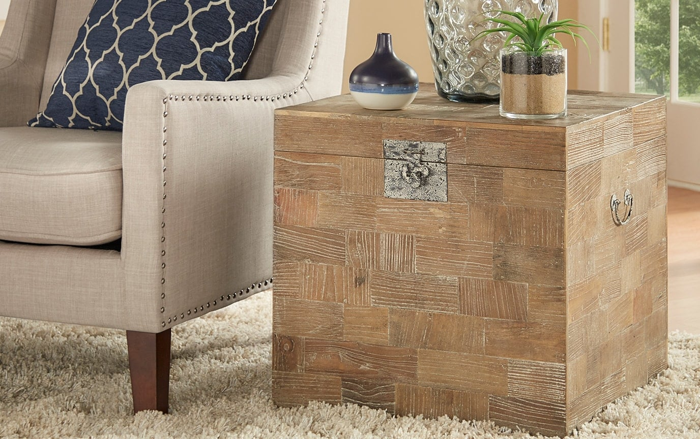 Daniel Wood Side Table