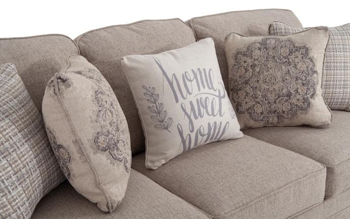 Charleston Sofa, Chair & Storage Ottoman