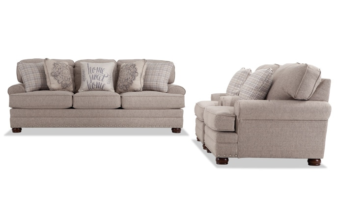 Charleston Sofa & Two Chairs