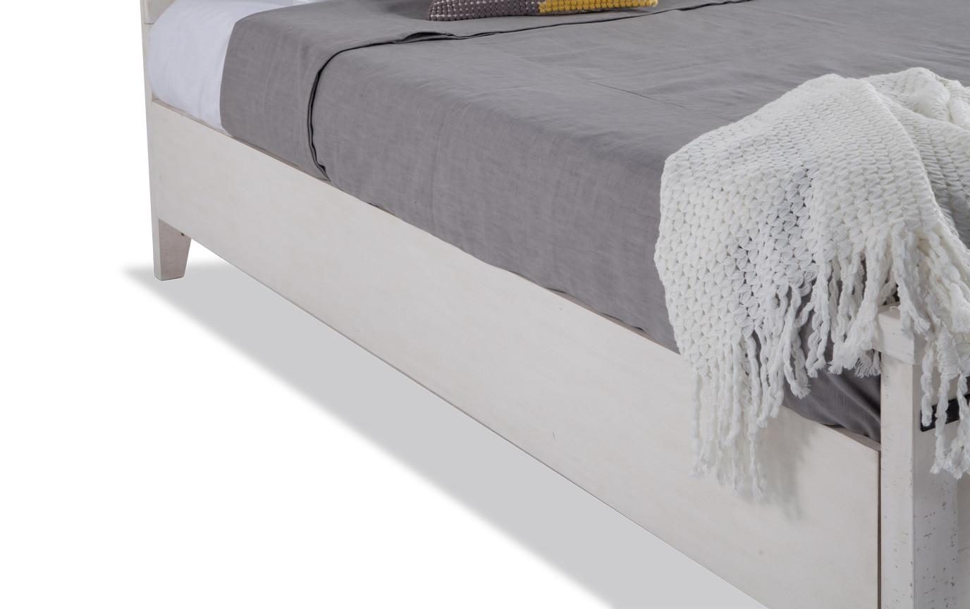 Montana Queen White Storage Bedroom Set