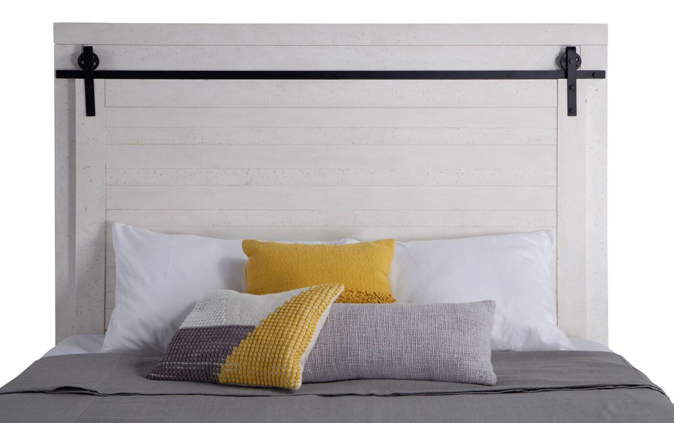 Montana King White Storage Bedroom Set