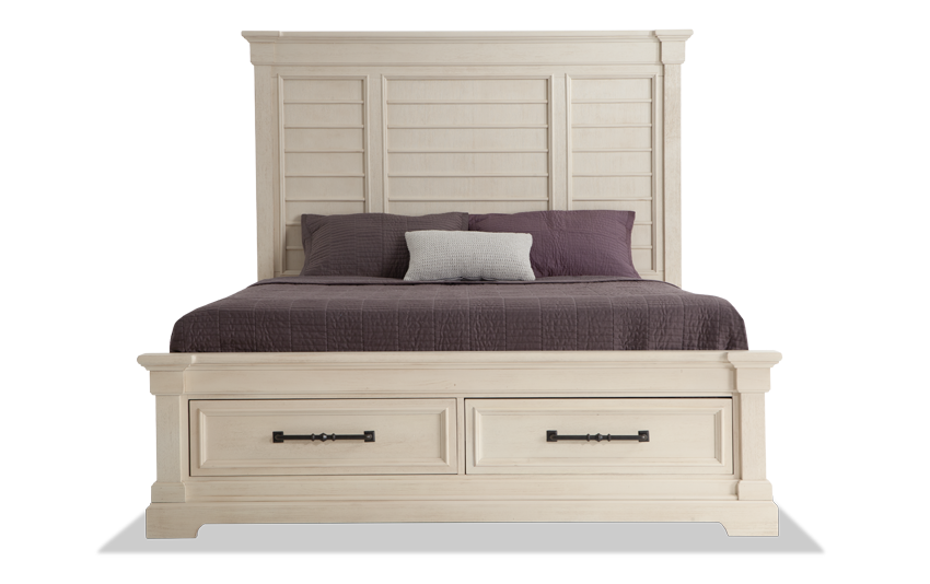 Laurel California King Storage Bed