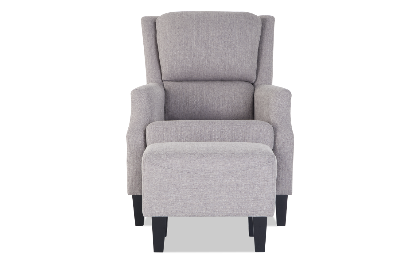 Magnificent Riley Ash Chair Ottoman Ncnpc Chair Design For Home Ncnpcorg
