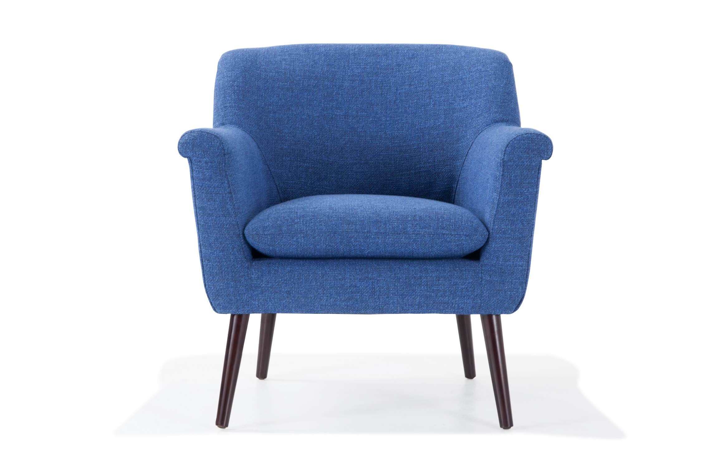 Picture of: Reece Royal Blue Accent Chair Bobs Com