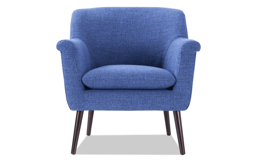 Reece Royal Blue Accent Chair