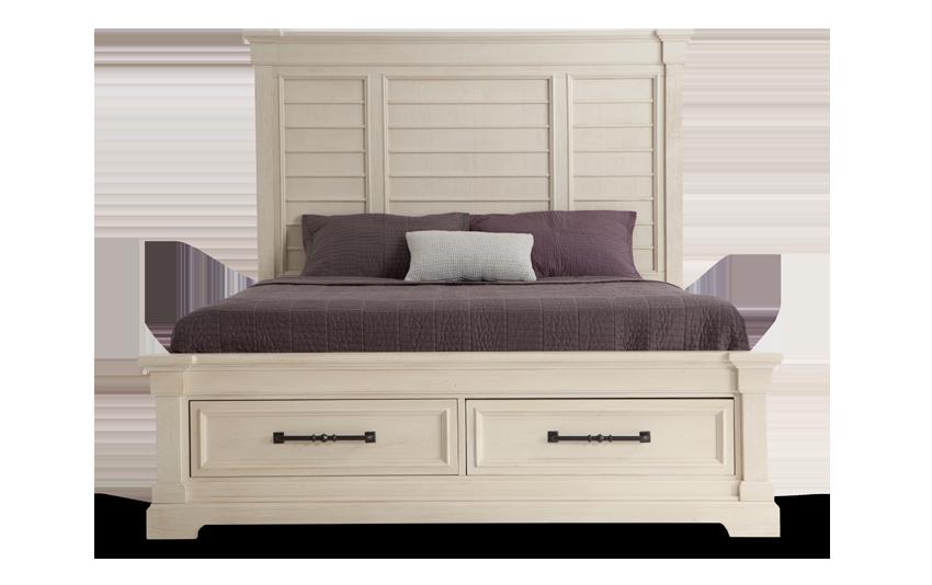 Laurel King Storage Bed