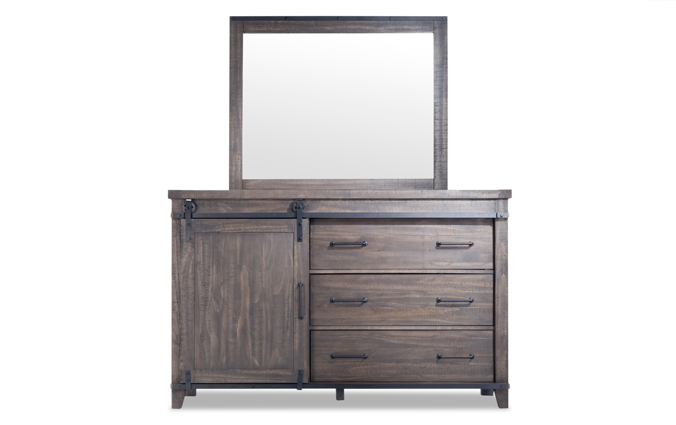 Montana King Brown Storage Bedroom Set