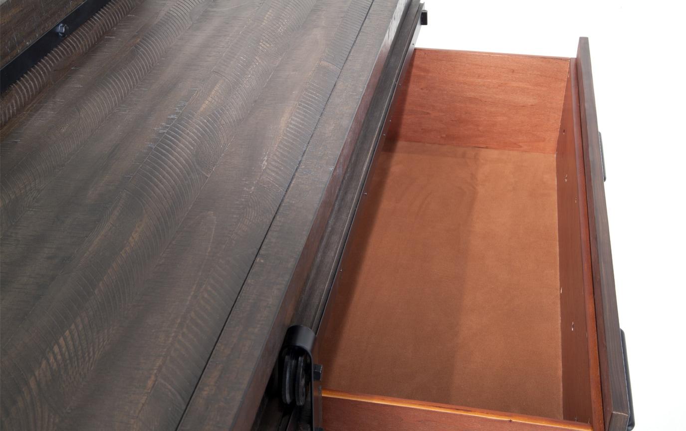 Montana Full Brown Storage Bedroom Set