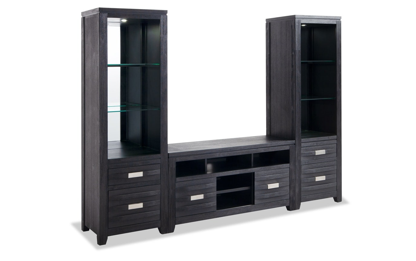 Elevations 50'' Entertainment 3 Piece Wall System