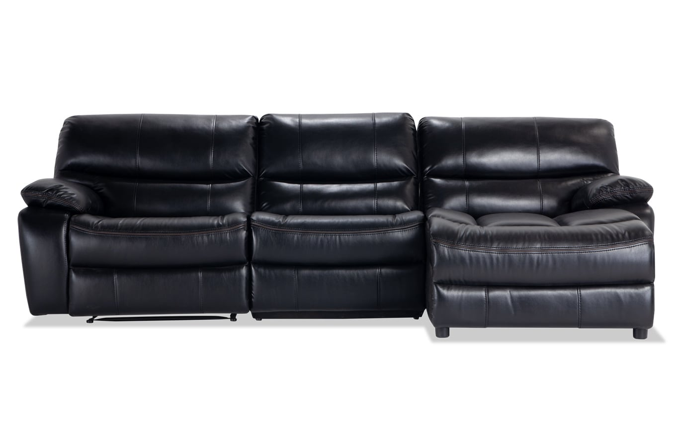 Tremendous Avenger 3 Piece Power Reclining Left Arm Facing Sectional Uwap Interior Chair Design Uwaporg