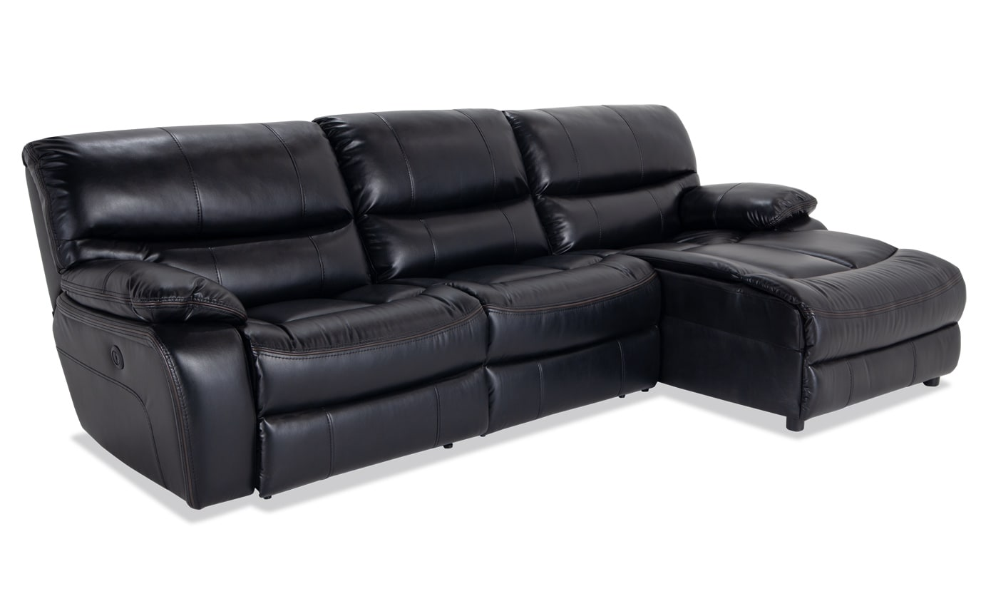 Surprising Avenger 3 Piece Power Reclining Left Arm Facing Sectional Uwap Interior Chair Design Uwaporg