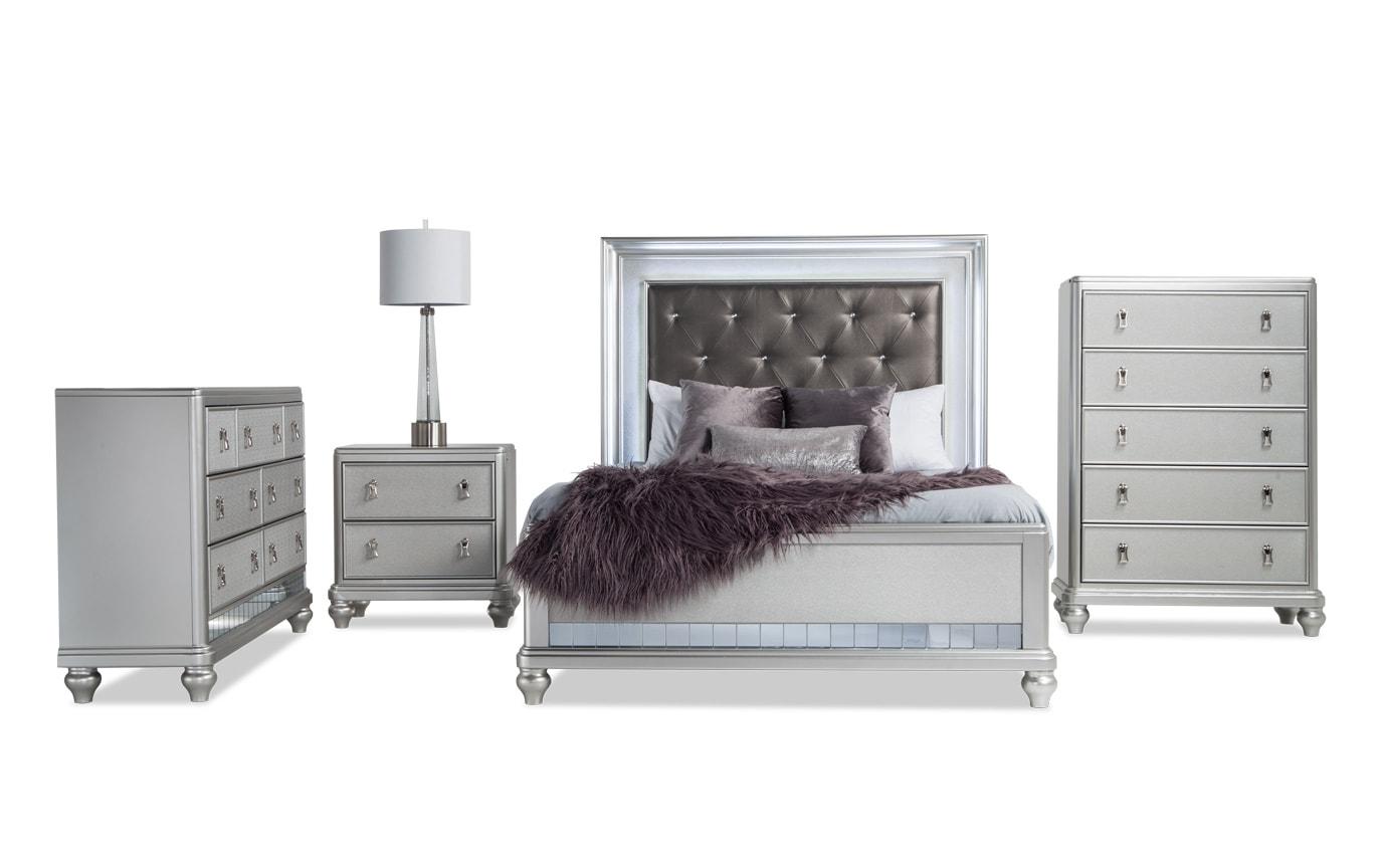 Diva II Full Bedroom Set | Bobs.com