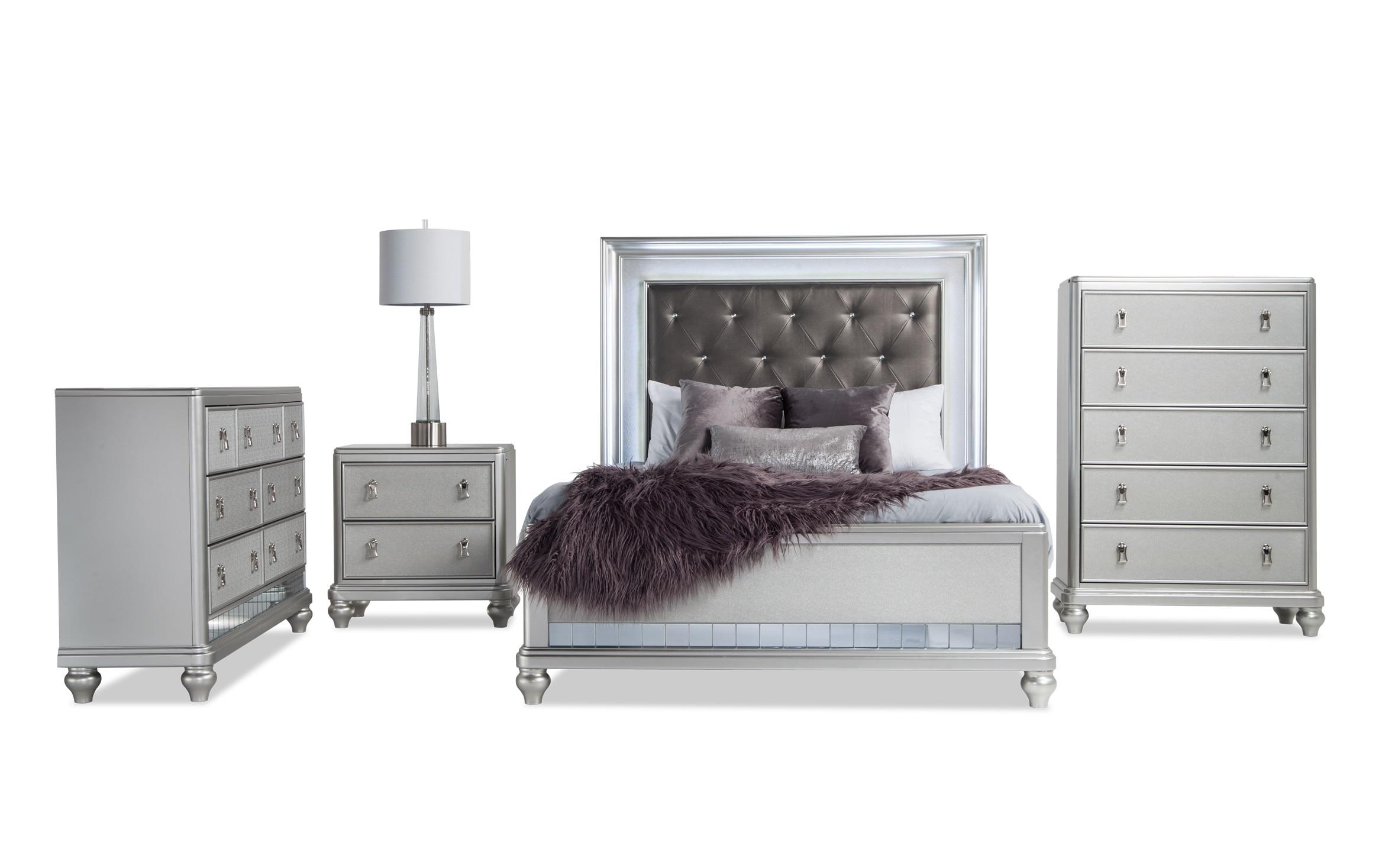 Diva Ii Queen Bedroom Set Bobs Com