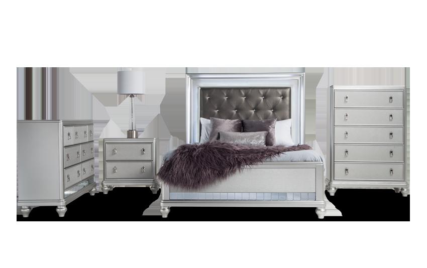 Diva II Queen Bedroom Set