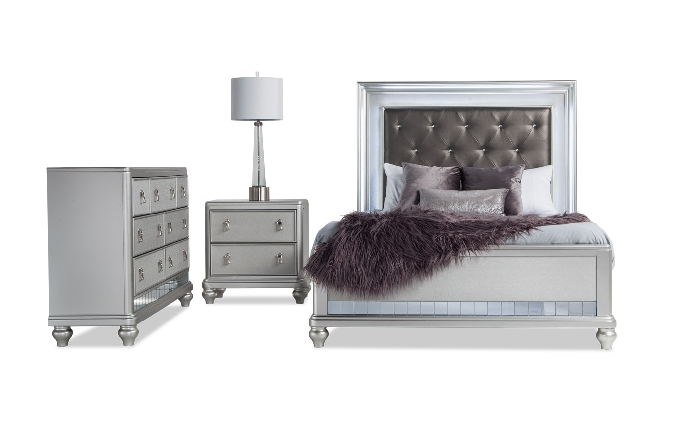 Diva Ii Queen Bedroom Set Bobs Com