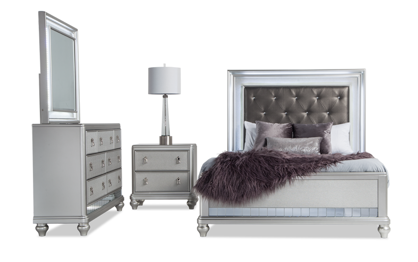 Diva II King Bedroom Set
