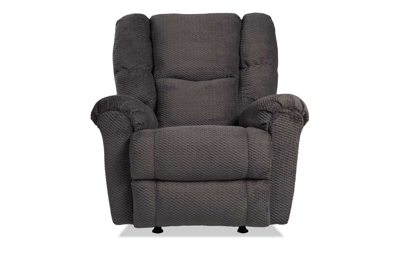 Miles Gray Rocker Recliner