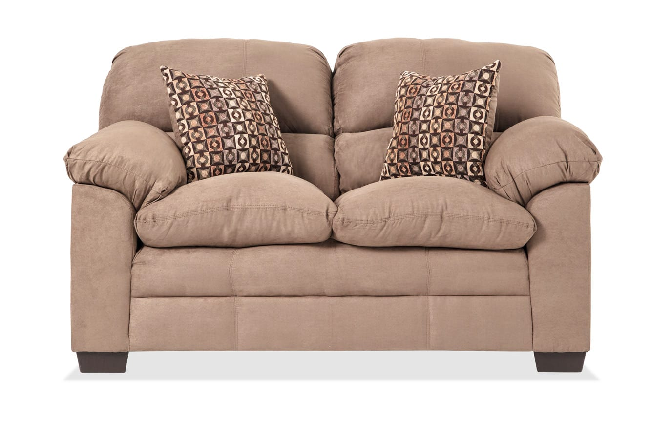 Jonas Latte Loveseat