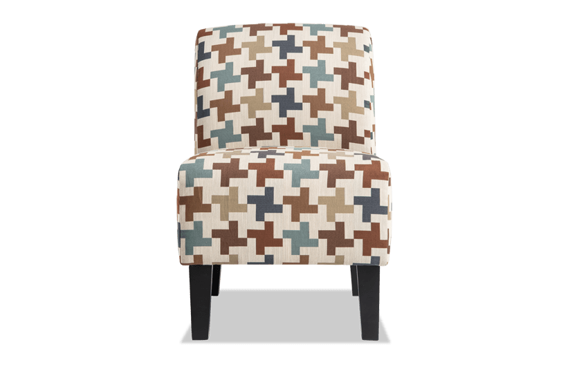 Abby Tetris Armless Chair