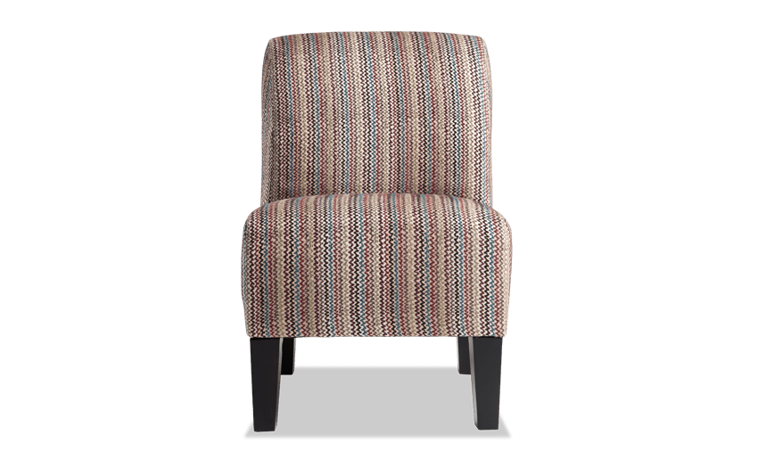 Abby Multi Color Armless Chair