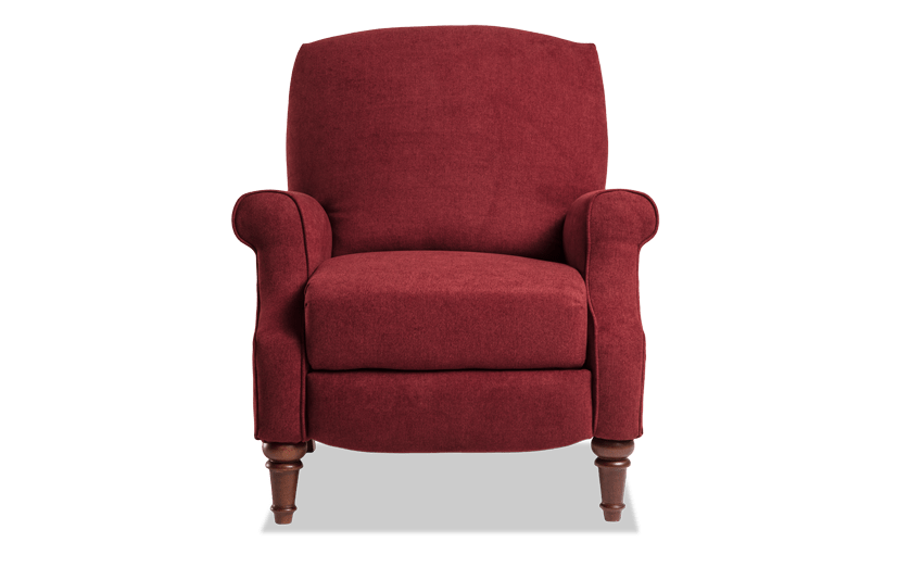 Rae Cranberry Red Push Back Recliner