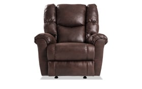 Miles Chocolate Rocker Recliner