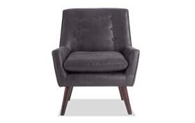 Maverick Black Accent Chair