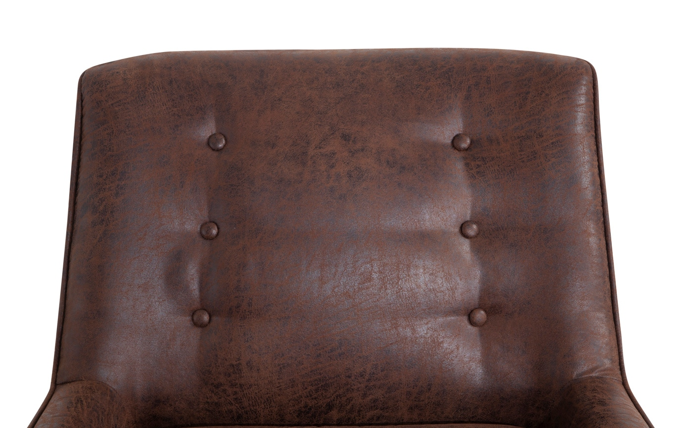 Maverick Brown Accent Chair