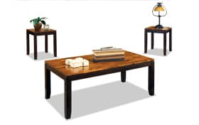Auli 3 Piece Coffee Table Set