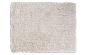 Sherpa 5' x 7' Cream Shag Rug