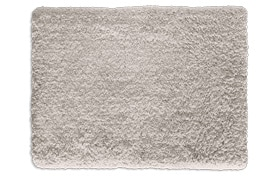 Sherpa 5' x 7' Light Gray Shag Rug