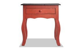 Sara Red Side Table