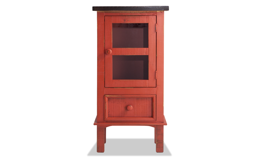 Rumi Red Side Table