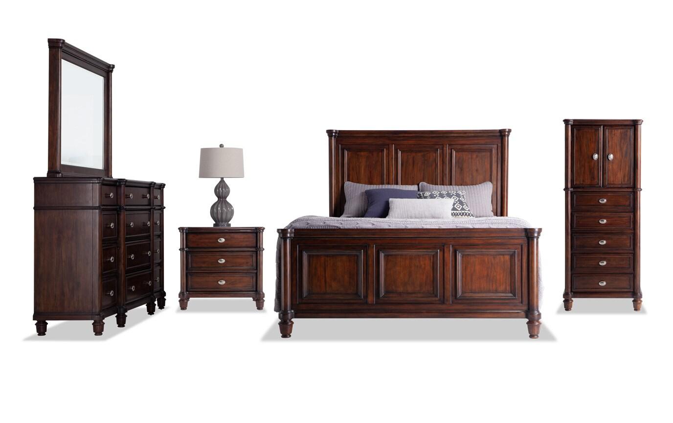 Hanover California King Storage Bedroom Set