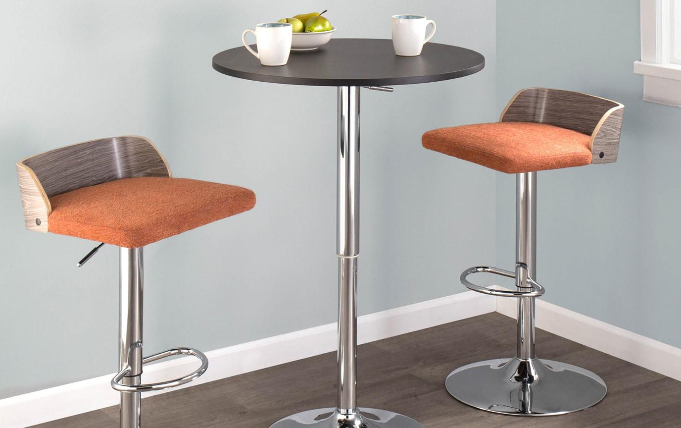 Jeanette Adjustable Bar Table