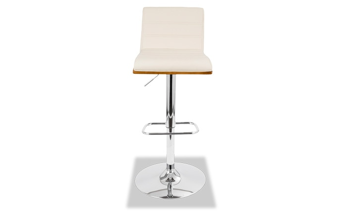 Femi Faux Leather Adjustable Swivel Stool