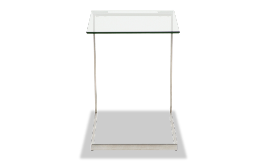 Krysten Glass End Table